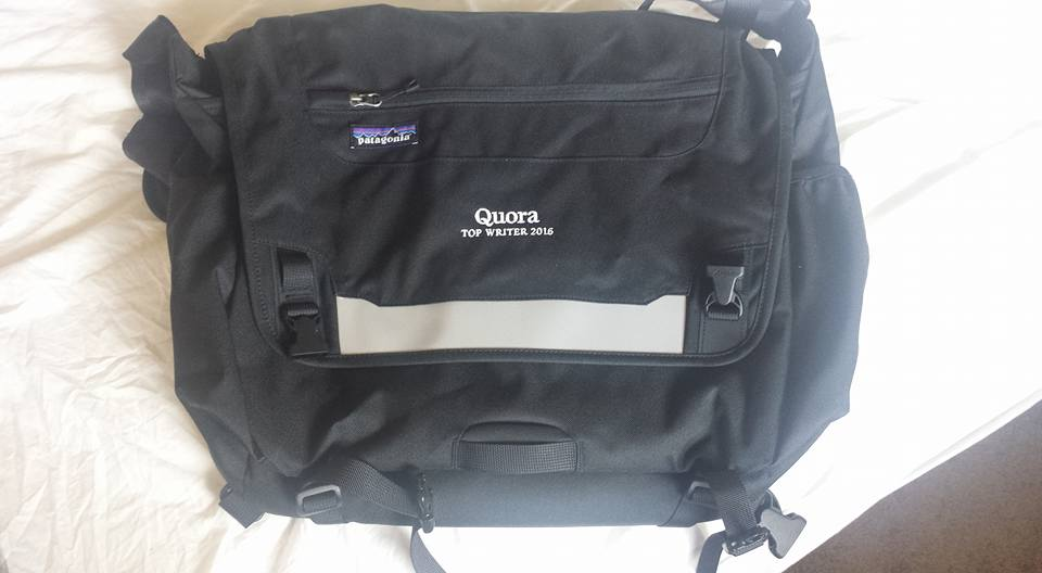 Quora Top Writer 2016 Bag